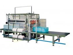 Автоматический упаковщик плит в термоусадочную пленку