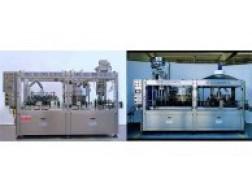 Автоматические ротационные триблоки для ополаскивания розлива, укупоривания модельного ряда «MEC ISO»