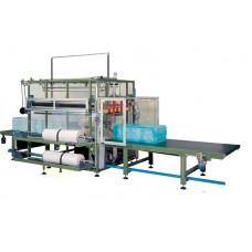 Термоупаковочная машина для автоматической упаковки плит XPS в термоусадочную пленку