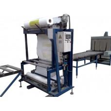 Термоупаковочная машина для упаковки плит XPS